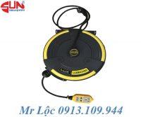 Cuộn dây điện tự rút 10 mét LUX-C25310