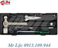 Bộ dụng cụ sửa chữa búa, kéo và tô vít JTC K8051